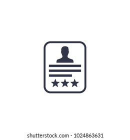 Customer review,feedback icon on white