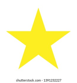 Customer satisfaction rating, stars 1 to 5, golden yellow