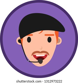 Customer Service Assistant, a 24Hour man hotline , operator