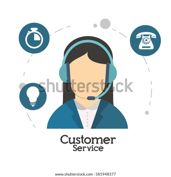 customer service character operator