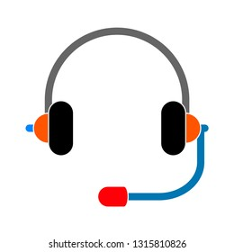 Customer service icon, Customer support icon, help and call center icon