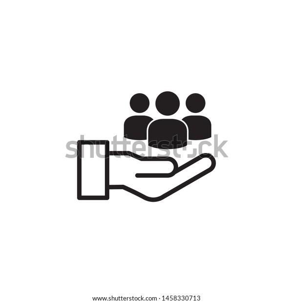 customer service icon vector illustration