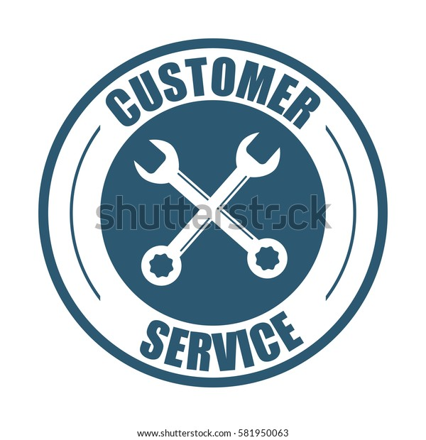 customer service support tools badge