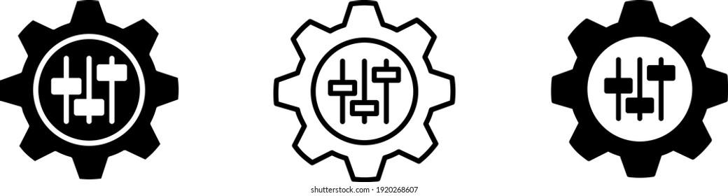 customisation icon , vector illustration