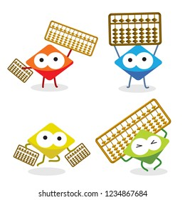 CUte Abacus Character