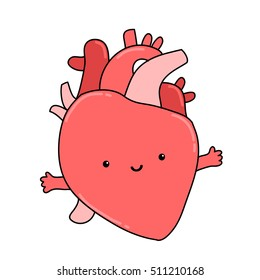 Heart Organ Images, Stock Photos & Vectors | Shutterstock