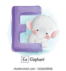 Cute Animal Alphabet Series A-Z