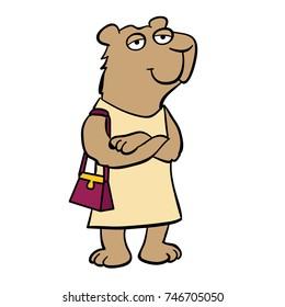 Cute animal from Argentina: capybara