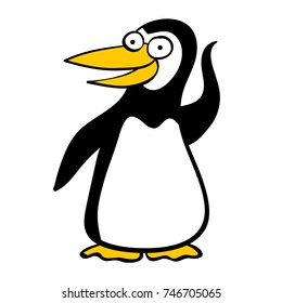 Cute animal from Argentina: penguin