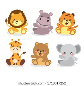 Zoo Animals Clipart High Res Stock Images Shutterstock