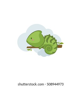 Cute Animals - Chameleon