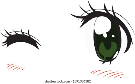 Eyes Anime Images Stock Photos Vectors Shutterstock