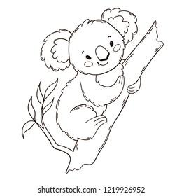 Baby Koala Isolated Images Stock Photos Vectors Shutterstock