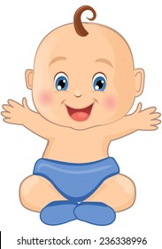cartoon baby boy images stock photos vectors shutterstock rh shutterstock com free baby boy cartoon images baby boy cartoon pictures free