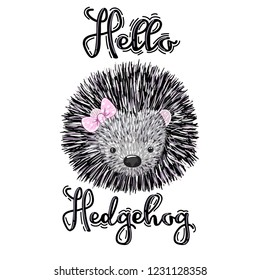Cartoon baby hedgehog - Download Free Vectors, Clipart ...