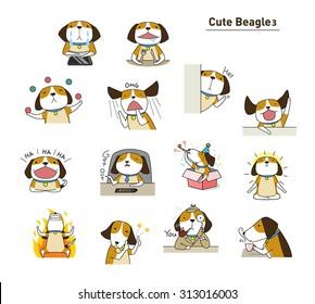 Cute beagle 3