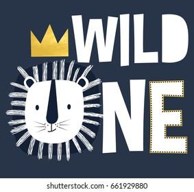Cute bear vector illustration for t-shirt design with slogan. Vector illustration design for fashion fabrics, textile graphics, prints.
