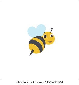cute bee vector design