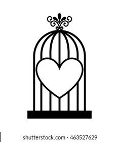 cute bird animal isolated vector illustration icon