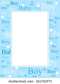 baby boy border images  stock photos   vectors shutterstock baby clothing clipart onesie grey baby shirt clipart