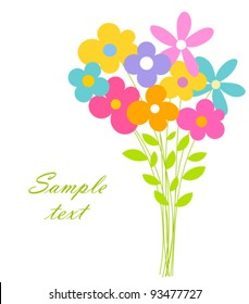 Cartoon Flower Bouquet Images, Stock Photos \u0026 Vectors