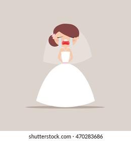 Cute Bride Expression Faces