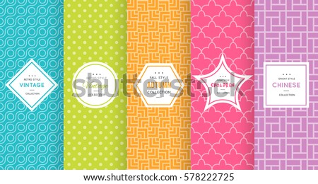 7118a33c7 Cute Bright Seamless Pattern Background Vector Stock Vector (Royalty ...