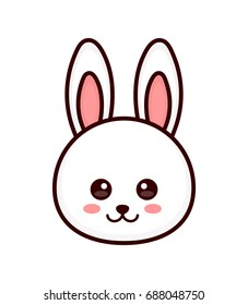 Rabbit Face Drawing Stock Illustrations Images Vectors Shutterstock