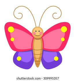 butterfly cartoon images stock photos vectors shutterstock rh shutterstock com cartoon butterfly pictures and flowers cartoon butterfly images