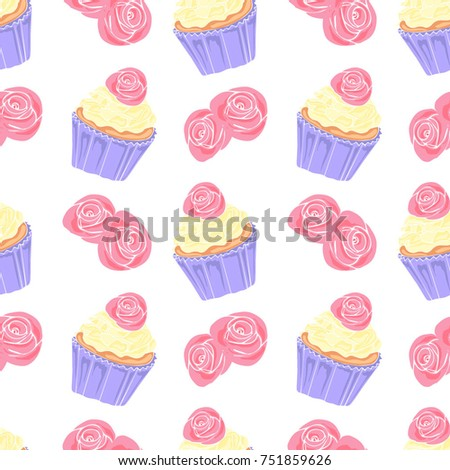 Cute Card Design Teenage Girls Simple Stock Vector Royalty Free