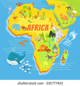Map Africa Kids HD Stock Images | Shutterstock