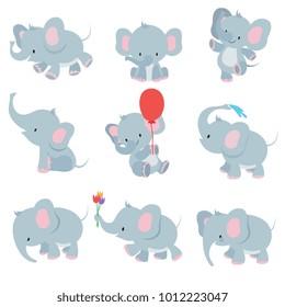 Baby Elephant Images Stock Photos Vectors Shutterstock