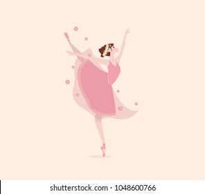 Ballet Cartoon Images Stock Photos Vectors Shutterstock