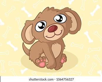 cartoon dog big eye images stock photos vectors shutterstock rh shutterstock com cartoon dog with big droopy eyes cute cartoon dogs with big eyes