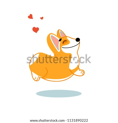 Men's Clothing Welsh Corgi Sitting In Profile Womens Tee image By Shutterstock