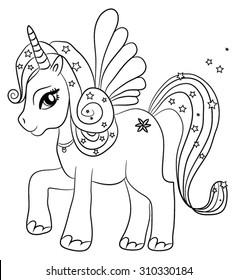 Unicorn Color Images Stock Photos Vectors Shutterstock