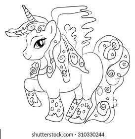 unicorn black images stock photos vectors shutterstock