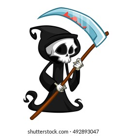 Reaper Cartoon Images, Stock Photos & Vectors | Shutterstock