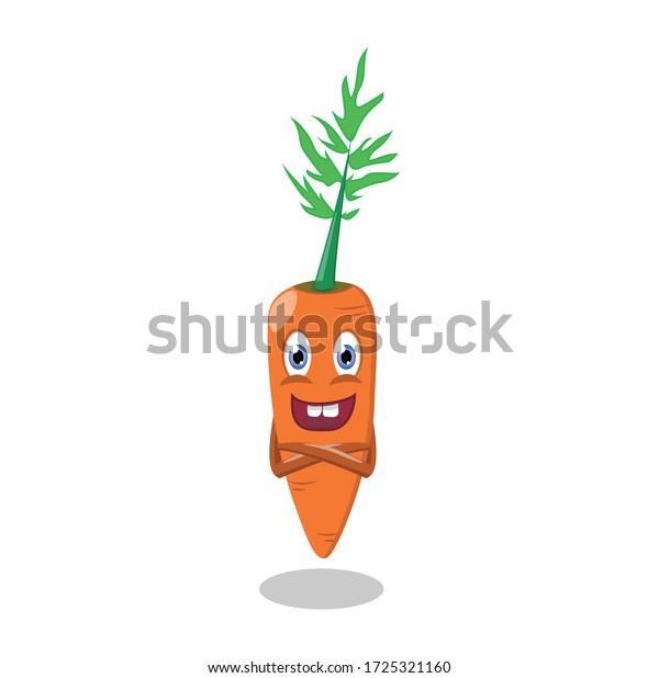 Vector De Stock Libre De Regalias Sobre Cuto Dibujos Animados Comida Kawaii Zanahoria 1725321160 Es la hortaliza más importante y de mayor consumo de la familia. shutterstock