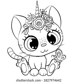 Cute Colouring Pages Hd Stock Images Shutterstock