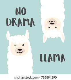 cartoon llama images, stock photos & vectors | shutterstock
