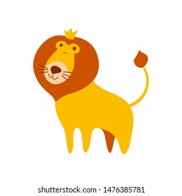 Cute Cartoon Lion Crown On Head Stock Vector Royalty Free 1476385781 Most relevant best selling latest uploads. shutterstock