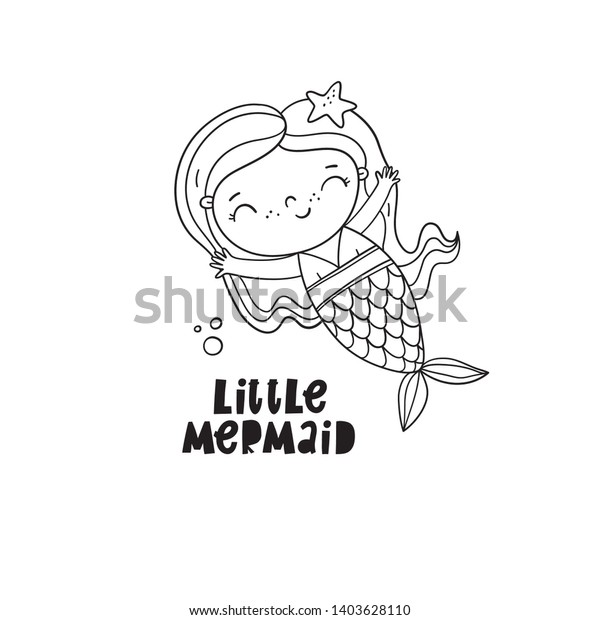 Little Mermaid Coloring Pages