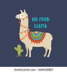 Llama Loves Lettering