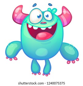 Cute cartoon Monster