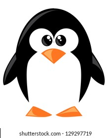 penguin cartoon images  stock photos   vectors shutterstock Vintage Baby Shower Clip Art Baby Shower Clip Art Templates