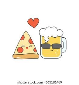 Ilustraciones Imágenes Y Vectores De Stock Sobre Pizzaamor