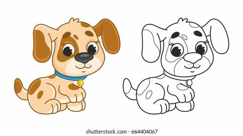 Cartoon Puppy Images Stock Photos Vectors Shutterstock