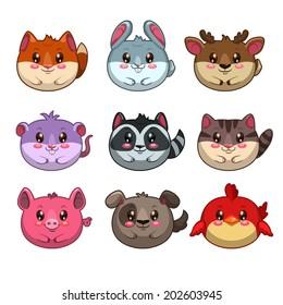 Chibi Animal Images Stock Photos Vectors Shutterstock