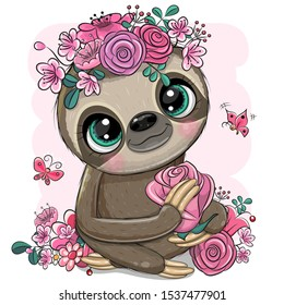 Sloth Cartoon Images Stock Photos Vectors Shutterstock